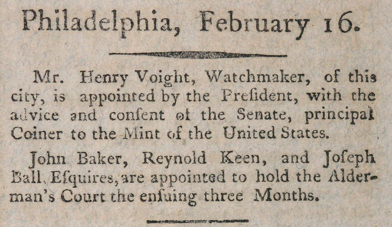 Early Dates  1793-1814   Yellow Fever 1793 Newspaper